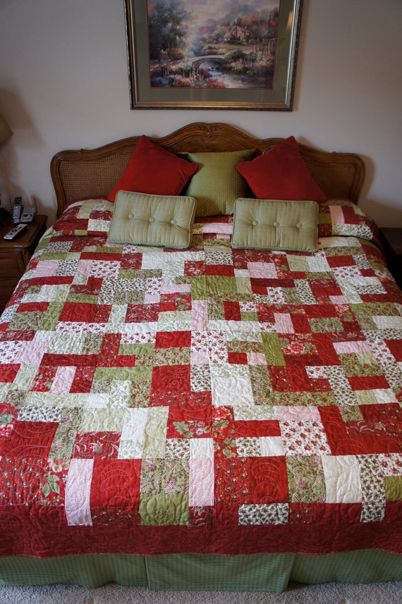 king size handmade quilts handmade yellow brick road pattern king 7543