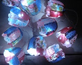 Recycled Fabric Fairy Lights
