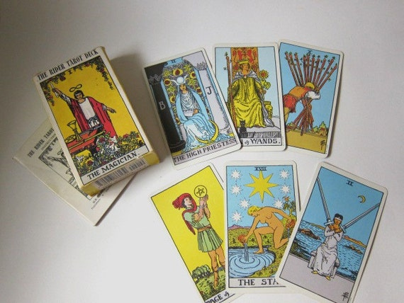 The Rider Tarot Deck, 1971, with Instruction Booklet