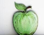 Decorative Cutting Boart Green Apple