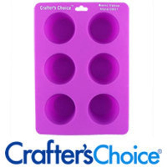 Silicone Votive Mold - Candle Making Supplies - 6-Cavity