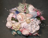Handmade bridal bouquet d...
