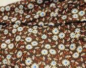 Cotton Fabric Retro floral print Vintage 0055