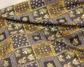 Cotton Fabric Vintage Patchwork Design 0047
