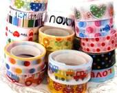 Deco tape kawaii surprise pack 9 pcs bulk lot grab bag