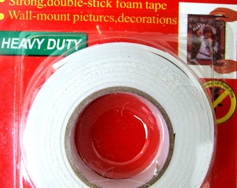 Double sided tape strong stick foam