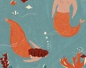 Mermaids  Giclee Print