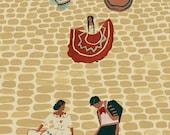 Mexican wedding giclee print