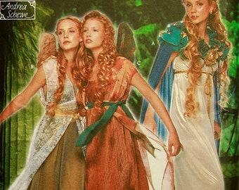 "Fairy Costume Andrea Schewe Designer Simplicity 9454  Uncut Sizes 14-16-18-20  Bust 36-38-40-42"""