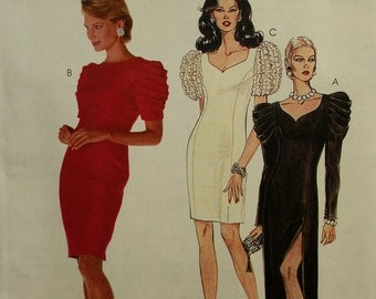 Cocktail Party Dress or Gown McCall's Pattern 7689  Uncut   Size  12, 16, 20