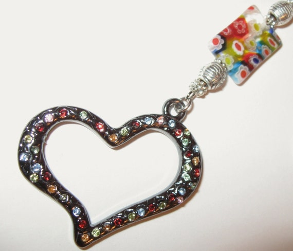 LANYARD, Colors Of My Heart I.D.Badge Holder/Lanyard