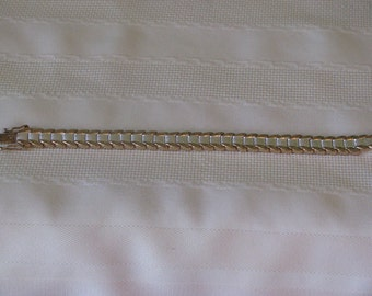 Silver and Gold Tone Bracelet