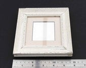Shabby chic Miniature Picture Frame suitable for a 6.5cm x 6.5cm picture