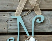 Personalized/Monogrammed Hanging Wreath/Decor Initial
