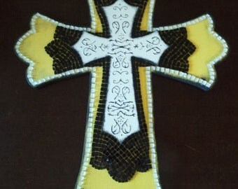 Awesome Mosaic Stacked Cross