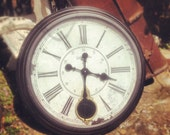 Large reproduction clock - vintage style - oversized