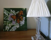 Butterfly Painting on Wood, Hand-painted, Acrylic on wood