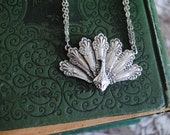 "Spoon Necklace: ""Peacock"" by Silver Spoon Jewelry"