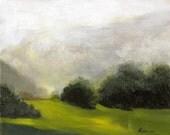 "Original painting - original Landscape Painting - ""Treeline no. 2"""