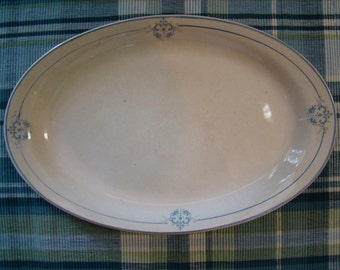 Homer Laughlin Empress 66N Platter Medallion Design