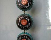 Shock Top IPA Tripple Bottlecap Pendant