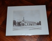 Reserved Listing for aelmore - Digital Print of Claggett Church