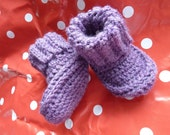 SOLD/RESERVED Baby booties 6-9 months