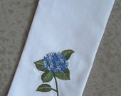 Linen-Blend Embroidered Tea Towels