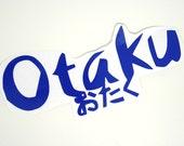 Otaku Decal- Blue