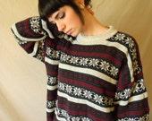 Vintage Oversized Winter Sweater