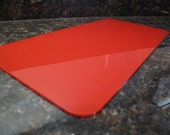 Vibrant Red Speedy 30 Base Shaper For Louis Vuitton Purse Custom Made Flame Polished Edges