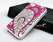 iphone 5s cases,iphone 5c cases,iphone 4 case iphone case iphone 4s case iphone 4 cover  beautiful pink  flower illustion unique Iphone case