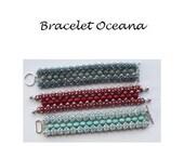 Beading Pattern Bracelet Oceana PDF (English)