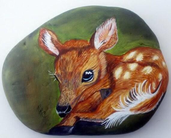 Fawn - River Rock Art