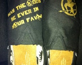Custom Painted Hunger Games Toms- For The Girl on Fire