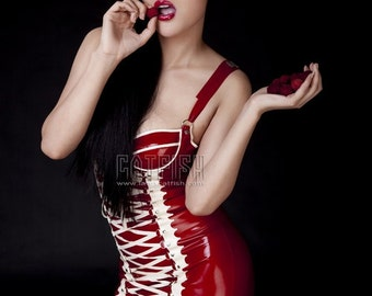 Fashion Sexy latex dress