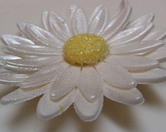 Edible 12 Sugar Gumpaste Daisy Flower