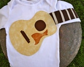 Delightfully Fun Guitar Outfit Modeled after the 'Gibson Songwriter Deluxe'