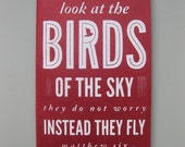 Birds of the Sky - Screen Printed, Medium Sized Journals