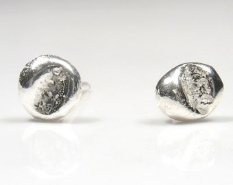 Abstract  silver stud