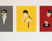 Manhood: Asian American icon hand-pulled poster series (5 posters)