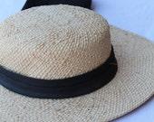 Vintage Miss Bierner Straw Hat
