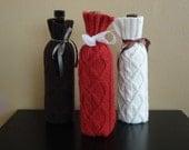 Wine Bottle Cozy Sweaters (Set of 3)
