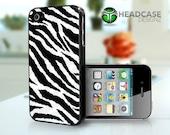 Zebra Print Cute - iPhone 4 4s Hard Case Cover
