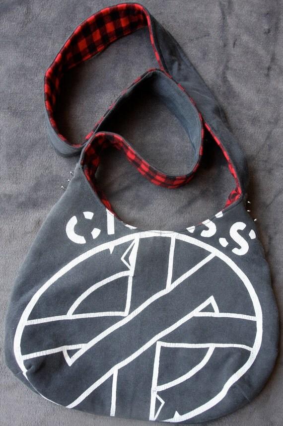OOAK - Upcycled Punk t-shirt - Crass