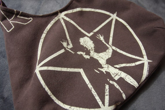Rush - OOAK Purse - Upcycled Rock T-shirt