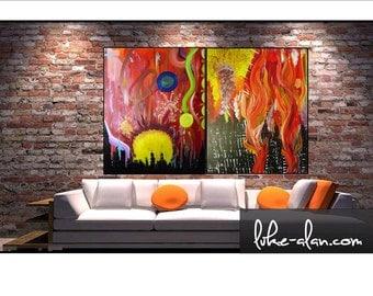 Urban Warfare Collection, Paintings 1 & 2