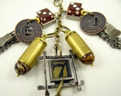Bullet 7 key chain with lanyard