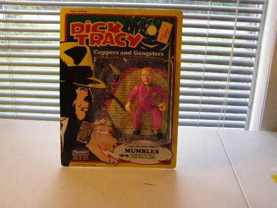 Dick Tracy  Mumbles 5 inch figure nip