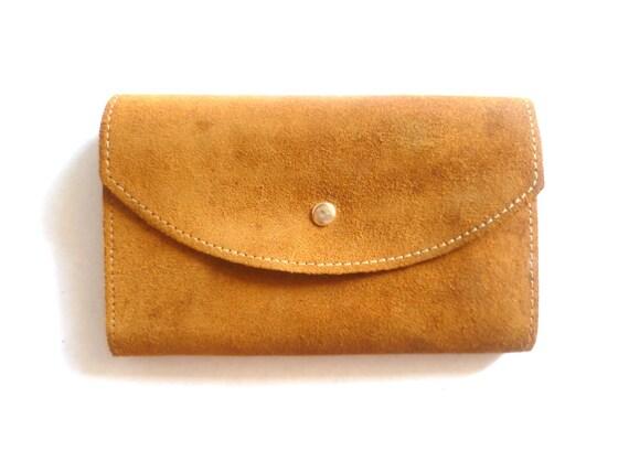 RESERVED VINTAGE Leather Suede Wallet